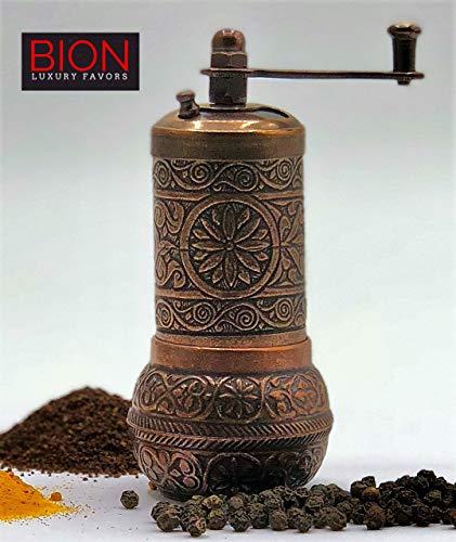 BION Pepper Mill, Spice Grinder, Pepper Grinder for pepper,