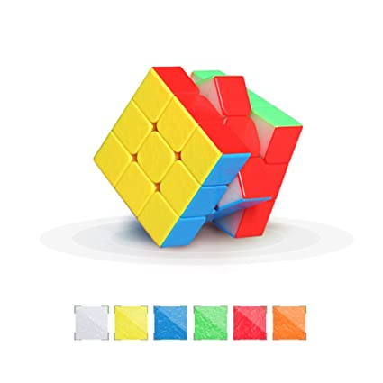 EDTara 3 x 3 Creative Magnetic Force Waterorpf Speed Puzzle Cube Intellectual Development Smart Cube