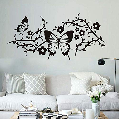 Pansy Vine - CYSDN Wall Sticker Pansy Vine Children's Room Living Room Bedroom Home Background
