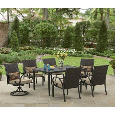Better Homes and Gardens Layton Ridge 7-Piece Patio Dining Set