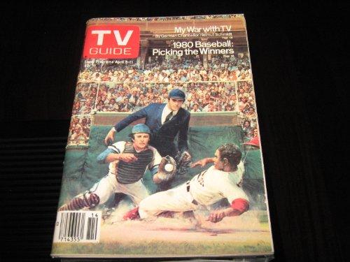 Tv Guide (1980 Baseball : Picking The Winners, April 5-11 , 1980)