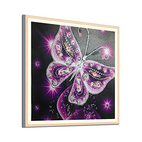 Outique Diamond Painting Kit,Special Shaped Elephant DIY 5D