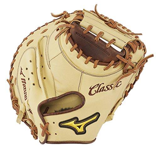 Mizuno Pro Catchers - Mizuno GXC28S3 Classic Pro Soft Baseball Catcher's Mitts, 33.5