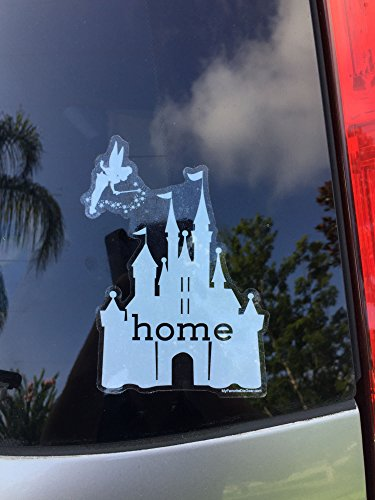 Disney Is My Home Car Decal, UV Resistant, Outdoor Automotive (Automotive Apparel)