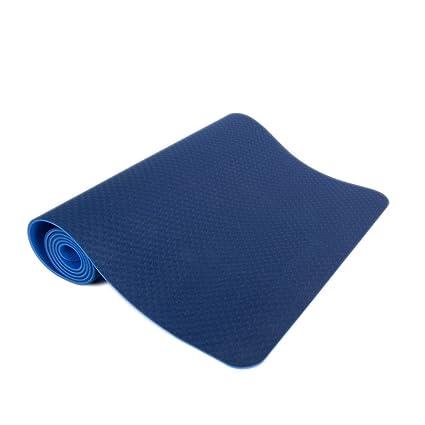 Amazon.com : FANFF Yoga mats Yoga Mat 6MM Multi-Function TPE ...