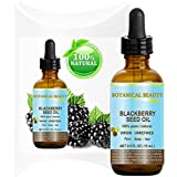 """BLACKBERRY SEED OIL 100% Pure / Natural / Virgin/ Unrefined. Cold Pressed / Undiluted Carrier Oil. 0.5 Fl.oz -15 ml. """"One Of The Richest Natural Sources Of Vitamin C And A Remarkable And Stable Source Of Omega 3 And 6, Vitamins E And Minerals. Strong Antioxidant."""""""