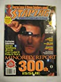 Starlog #300 July 2002 Minority Report Farscape Witchblade Angel Lucas Spielberg