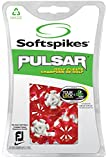 Softspikes Pulsar Tour Lock Cleat - One Replacement Set - Red