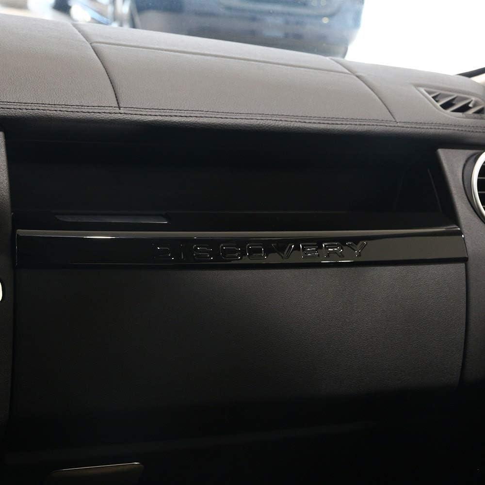 Rivestimento Interno del Rivestimento del vano portaoggetti Interno in ABS Cromato WYZXR Compatibile con Discovery 4 2010-2016