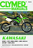 M448-2 Kawasaki KX80 ('91-'00), KX85 & KX85-II ('01-'16) and KX100 ('89-'16) Clymer Motorcycle Repair Manual