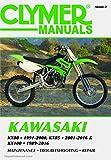 M448-2 Kawasaki KX80 ('91-'00), KX85 & KX85-II ('01-'16) and KX100 ('89-'16) Clymer Motorcycle Repair Manual