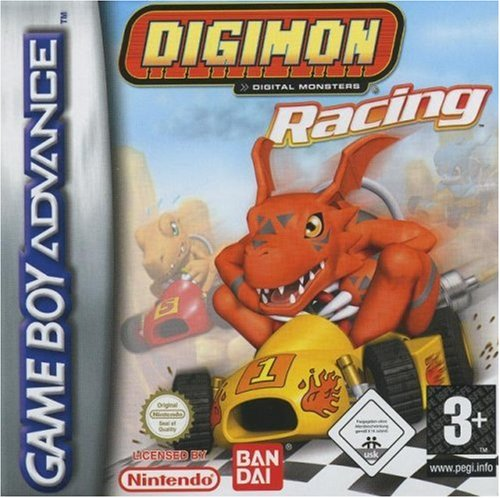 Racing Digimon - Game Boy Advance - Digimon Racing - [PAL EU]