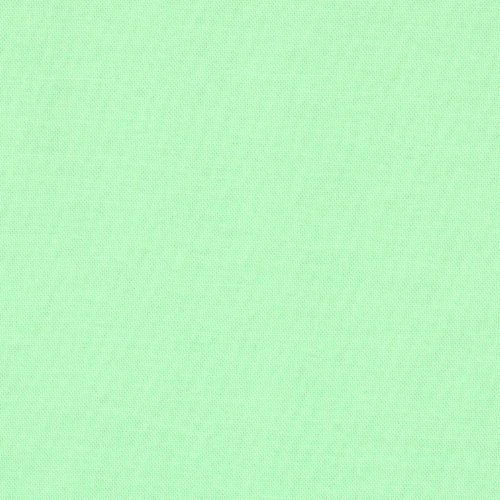 Kona Cotton Mint Fabric By The Yard (Kona Cotton Broadcloth)