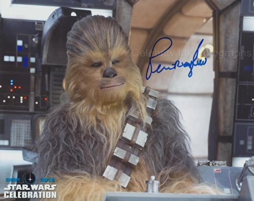 PETER MAYHEW as Chewbacca – Star Wars GENUINE AUTOGRAPH