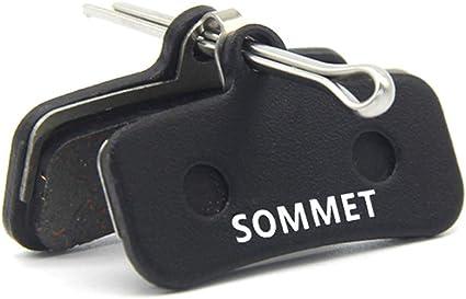 Resin Disque Patins de frein Compatible Avec Shimano Saint BR M820 BR M810
