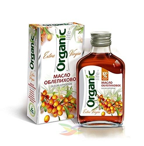 Sea Buckthorn Seed (Sea Buckthorn Oil - 100% Pure, Cold Pressed & Organic Sea Buckthorn Seed Oil for Hair & Skin No GMO 100ml.)