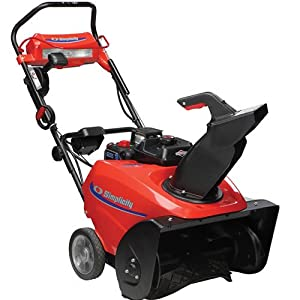 B00A8AY15C_Simplicity 1696233 Gas Powered SS922EX 22″ 205cc Deluxe Single Stage Snow Blower with Electric Start