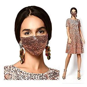 Sequin Face Masks Handmade