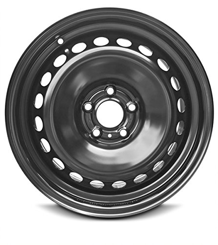 New 17 x 7 Inch 5 Lug (14-17) Nissan Rogue OEM Replica Full-Size Spare Replacement Steel Wheel Rim 17x7 5x114.3 +50mm Offset (15x7 Steel)