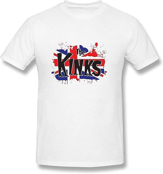 The Kinks Kinky Boots Flag - Camiseta, color blanco PC. L