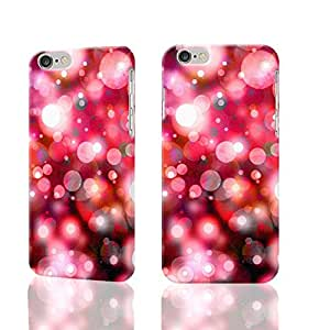 Pink Glitter Photo Plastic Hard Customized Personalized 3D Case For iPhone 6 Plus - 5.5 inches