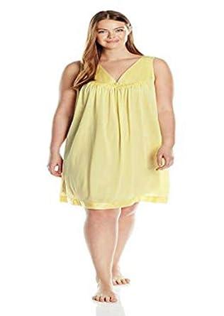 e3badaa2e20 Vanity Fair Women s Coloratura Short Nightgown (X Large - 44