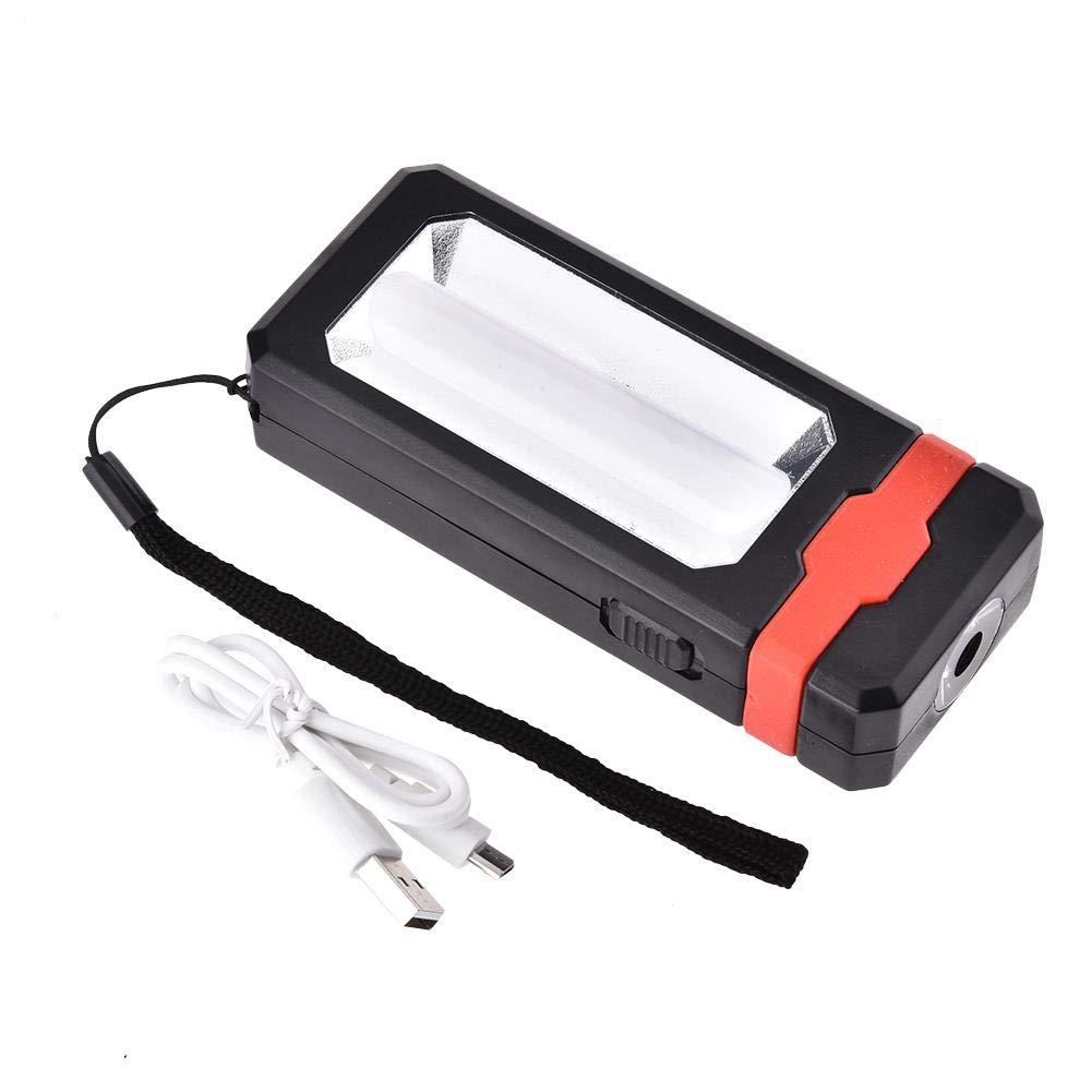 Cosy-TT Portatile Lampada da Lavoro, 2 modalità di lavoro LED torcia elettrica USB Ricaricabile di ricarica solare torcia elettrica di campeggio magnetico di riparazione auto