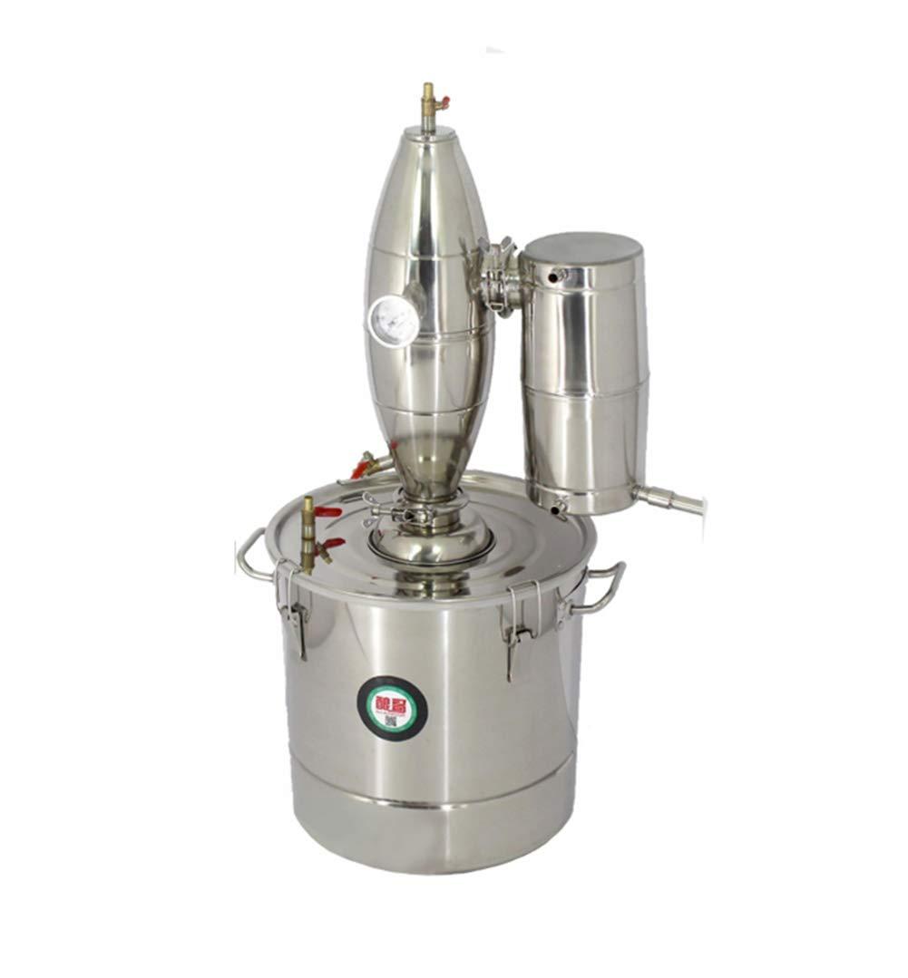 TOPCHANCES Household 50L Stainless Alcohol Sistiller Beer Wine Making Boiler