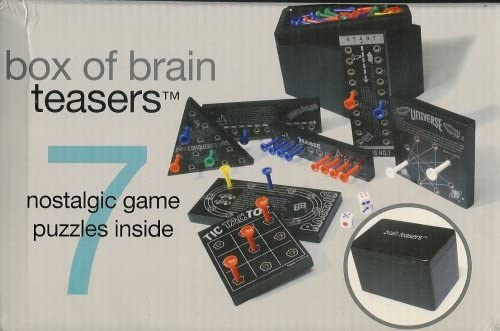 Box of Brain Teasers 7 Nostalgic Game Puzzles