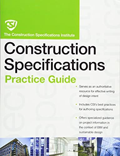 the csi construction specifications practice guide construction rh amazon com Study Guide Exam Outlines SHRM Exam Study Guide