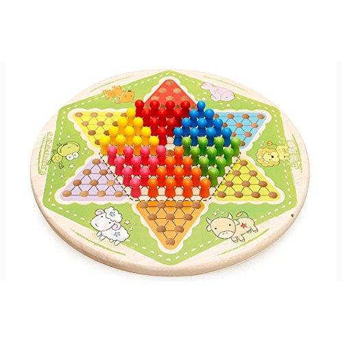 Kayiyasu カイヤス 子ども おもちゃ ダイヤモンドゲーム 知育玩具 カラフル 021-lzgy-d150(直径28.5cm 約1300g )の商品画像