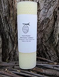 100% Beeswax Pillar Candles - 8\
