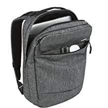 Incase City Collection Compact Backpack Backpack Heather Black/Gunmetal Gray One Size