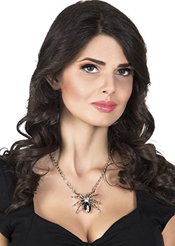 Boland Halloween Black Widow Spider Necklace -