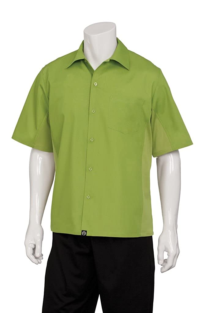 Chef Works Men's Universal Server/Cook Shirt (CSMV)