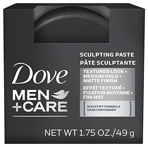 Dove Men+Care Styling Aid Hair Product Medium Hold Sculpting Hair Paste Hair Styling for a Textured Look With A Matte… 1