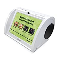"NC820, Kitchen Entertainment, Counter-top Design, Hi-Fi Speakers, Audio Book, 15K+ Radio Stations, Streaming Videos, Movies, Music, Auto Wi-Fi, Plug & Play, Social Media, Recipes, 8""Touch Panel"