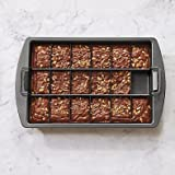 Slice Solutions 3-Piece Brownie Pan Set by Chicago Metallic