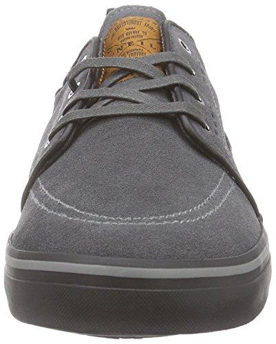 O'Neill Santa Cruz suede - zapatilla deportiva de cuero hombre gris - Grau (N18 Anthracite)