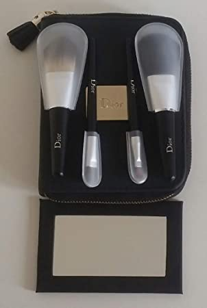 c48efa67 Dior 6pc Makeup Gift Set (Pouch, Compact Mirror 4 Brushes: Lips ...