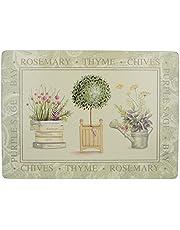 Creative Tops Topiary premium tickets met kurkachterkant, 4-delige set, 40 x 29 cm (153 x 114 x 2 inch)