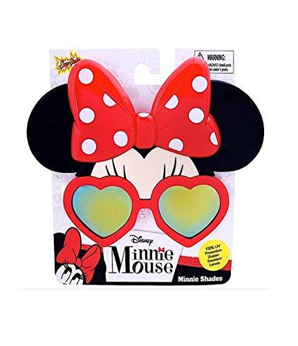Sun-Staches - Minnie Reflective Shades ()