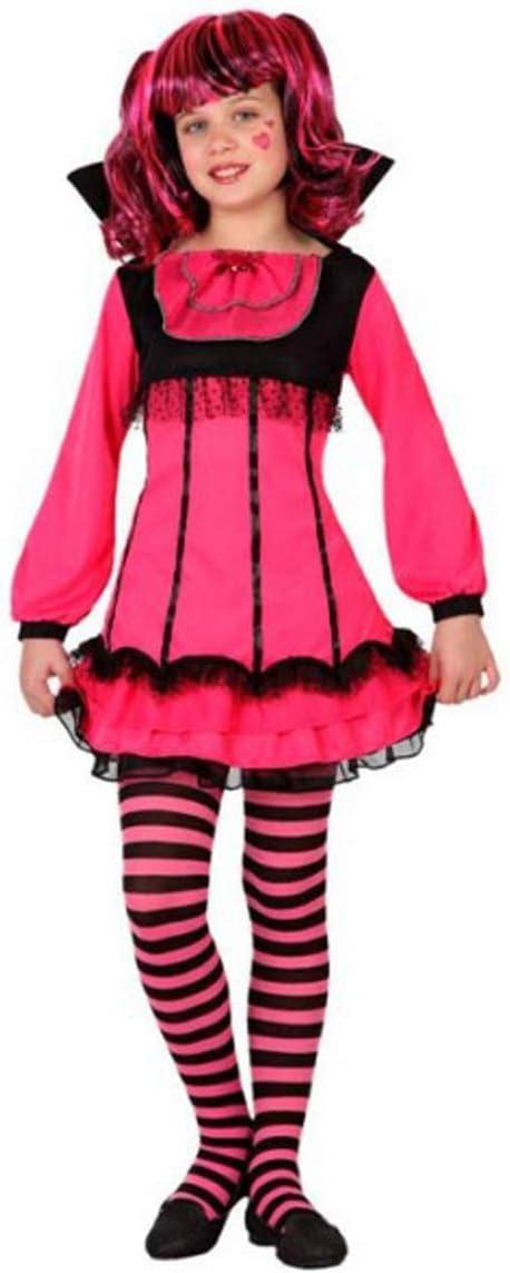 LEMON TREE SL Disfraz para Halloween Infantil de Vampiresa Color ...