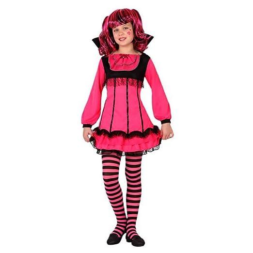 LEMON TREE SL Disfraz para Halloween Infantil de Vampiresa ...