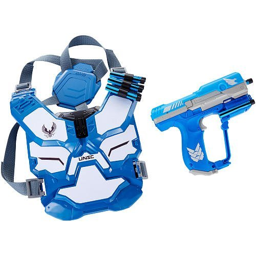 BoomCo HALO Spartan Assault Battle Armor Gear Set - -