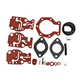 Carburetor Carb Repair Rebuild Kit For Johnson/Evinrude 439073,0439073 By Mopasen