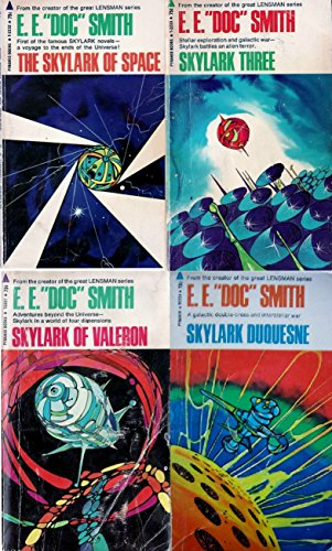Skylark Novel Series (4 Book Set) (The Skylark of Space (T2232), Skylark Three (T2233), Skylark of Valeron (T2237), Skylark Duquesne (T2238))