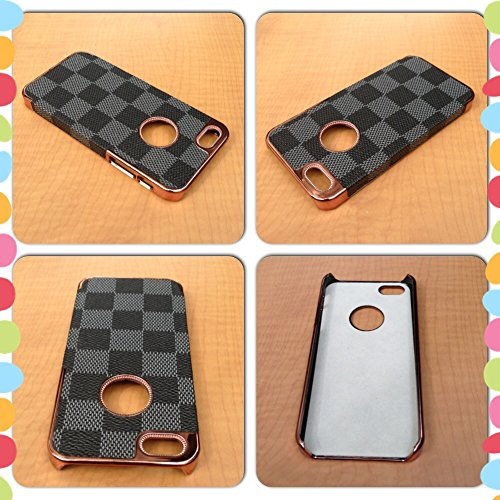 Iphone 5 Case Iphone 5s Cover Pu Leather Snap Plastic Case #15 Iphone 5 Leather , Iphone 5s - Case Chanel Iphone From 6