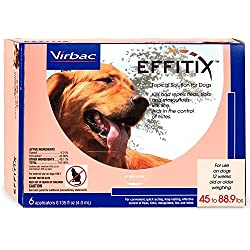 Effitix Topical solution for Dogs 4588.9 lbs. 6 Months