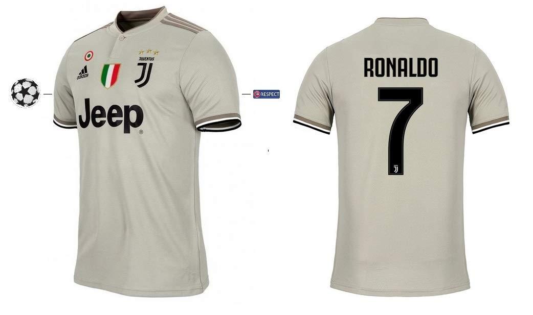 Juventus Turin Trikot Kinder 2018-2019 Away UCL - Ronaldo 7